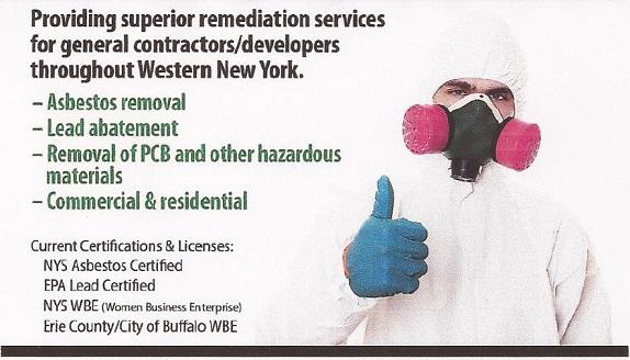 Buffalo NY Asbestos & Lead Remediation Services